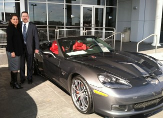 Top Gun Air Force Pilot Buys a 2013 Corvette 427 Convertible