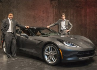 [VIDEO] The 2014 Corvette Stingray Makes Its Debut in Canada
