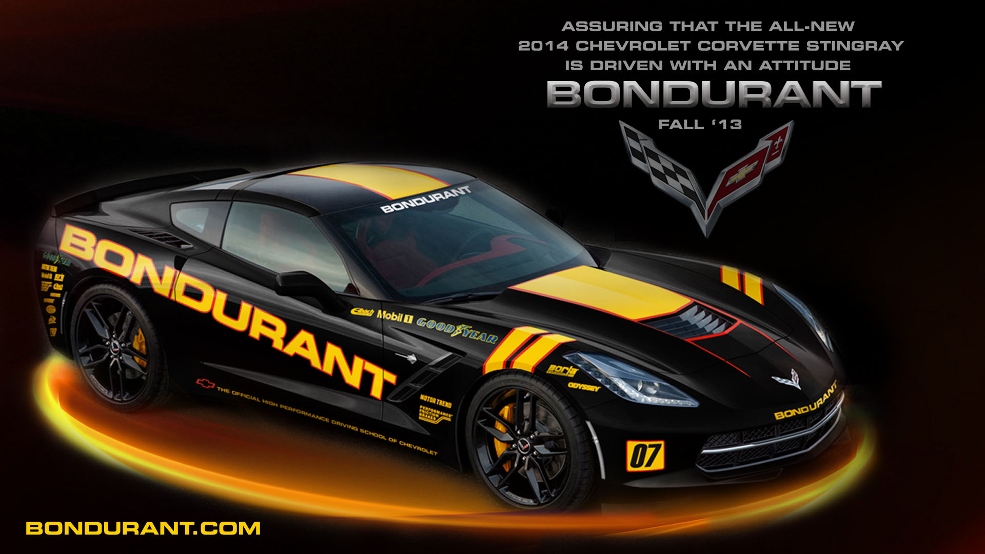 Wallpaper Imagine The 2014 Corvette Stingray In