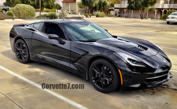 [PIC] Black 2014 Corvette Stingray Seen Testing in San Diego