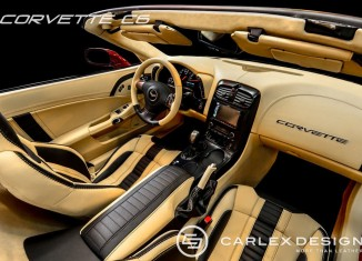 Carlex Design Shows Off Upgraded C6 Corvette Interior