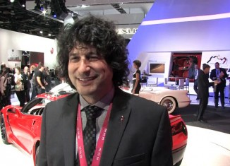 [VIDEO] Interview with Corvette Product Manager Harlan Charles at the 2013 NAIAS