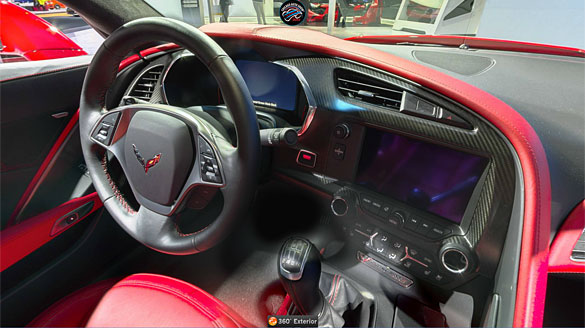 Check Out This Awesome 360 Degree View of the 2014 Corvette Stingray Inside and Out