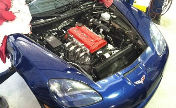 Unholy Engine Swap: Corvette Z06 Gets a 1.8L from Honda