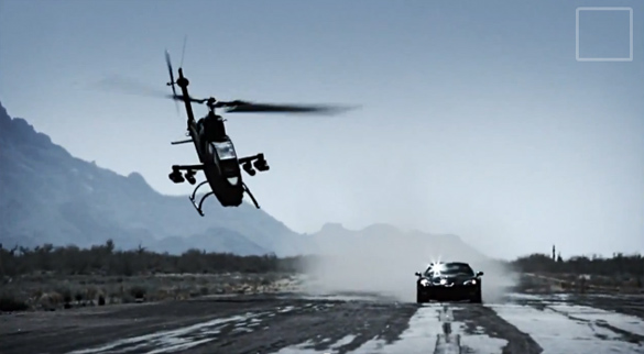 [VIDEO] Helicopter Crashes After Racing a Corvette ZR1 on Top Gear Korea