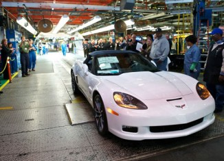 End of an Era: The Last C6 Corvette Rolls Off the Production Line in Bowling Green