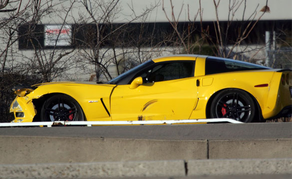 [ACCIDENT] Corvette Z06 Collides with a Motorcycle in New Jersey