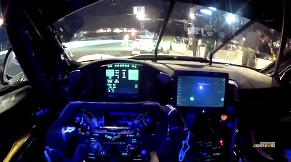[VIDEO] Corvette Racing's New Collision-Avoidance Radar System in Action