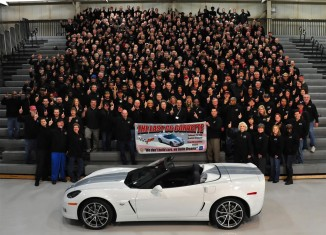 The End of the 2013 Corvette - What Did They Build Most?