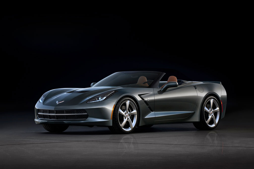 This is the 2014 Corvette Stingray Convertible