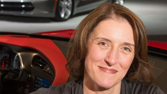 British Woman Plays Key Role in Designing the Interior for the 2014 Corvette Stingray