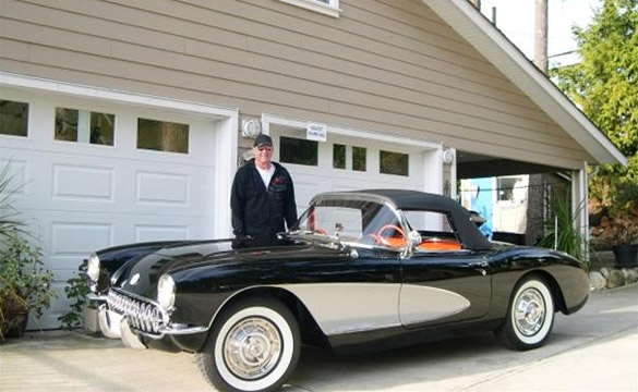 Canadian Corvette Owner is in Absolute Heaven with his Restored 1957 Corvette