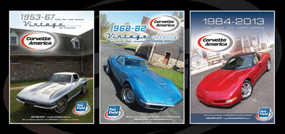 Corvette America's New Late Model Corvette Catalogs Now Available