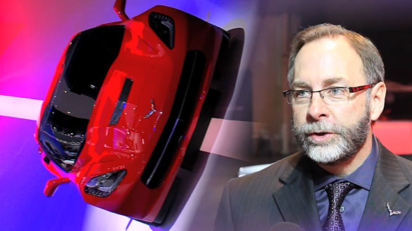 [VIDEO] GM's Kirk Bennion and the Five Goals for Designing the New C7 Corvette Stingray