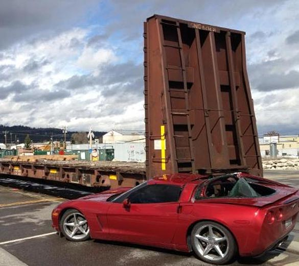 [ACCIDENT] C6 Corvette Struck by Train in Washington