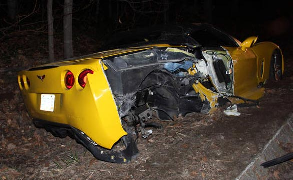 [ACCIDENT] New Hampshire Man Faces DUI Charges in C6 Corvette Crash