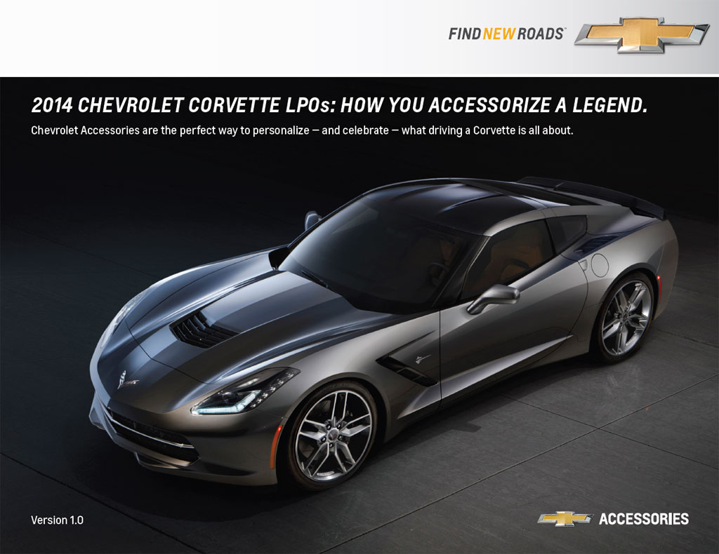 Chevrolet Details Limited Production Options for Customizing the 2014 Corvette