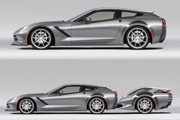 Callaway Corvette's AeroWagonette is our Favorite April Fools Joke