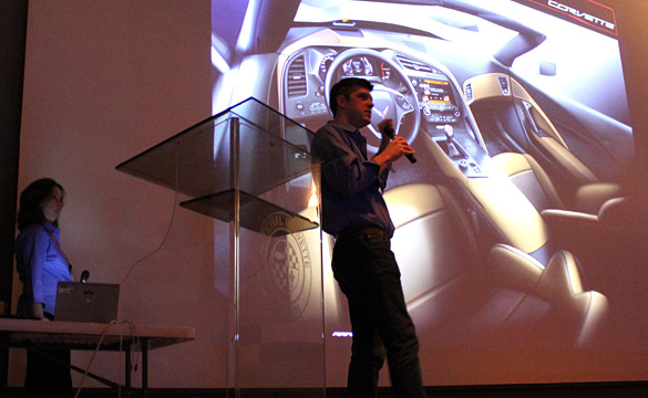 [VIDEO] The C7 Corvette Interior Design Seminar at the 2013 NCM Bash