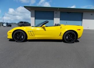 Corvettes on eBay: Drug Dealer's Seized 2013 Corvette Grand Sport