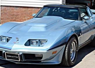 Diesel-Powered C3 Corvette Goes Home