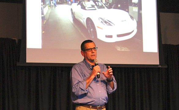 [VIDEO] Corvette Assembly Plant Update with Dave Tatman at the 2013 NCM Bash