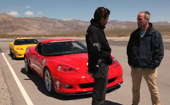 [VIDEO] Chevy Sends a Daddy Blogger to Drive a Corvette at Ron Fellow's Driving School