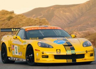 Corvettes on eBay: 2006 Corvette C6.R ALMS GT1 Tribute