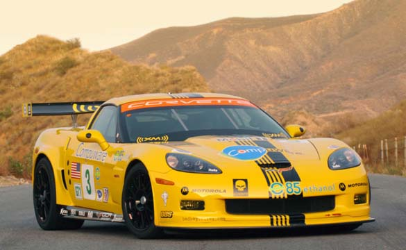Corvettes on eBay: 2006 Corvette C6.R ALMS GT1 Tribute