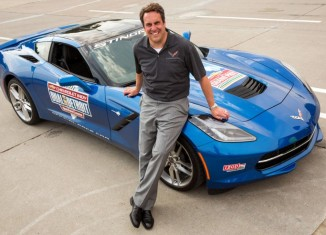 [VIDEO] Mark Reuss to Pace the Indy Dual in Detroit in a 2014 Corvette Stingray