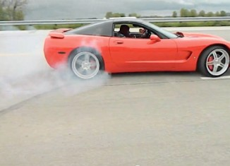"[VIDEO] Corvette Fail: ""That's a Hit and Run Baby!"""