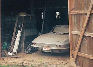 Barn Find: 1966 Survivor Corvette For Sale on eBay