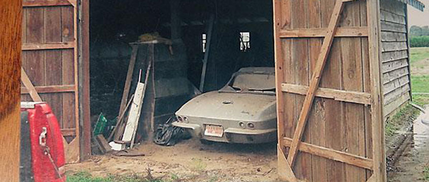 Barn Find: 1966 Survivor Corvette For Sale on eBay