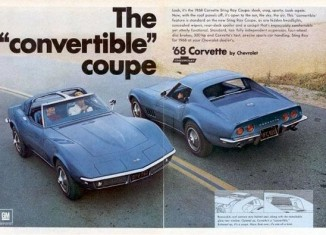 Corvette History Through Ads: The Convertible Coupe