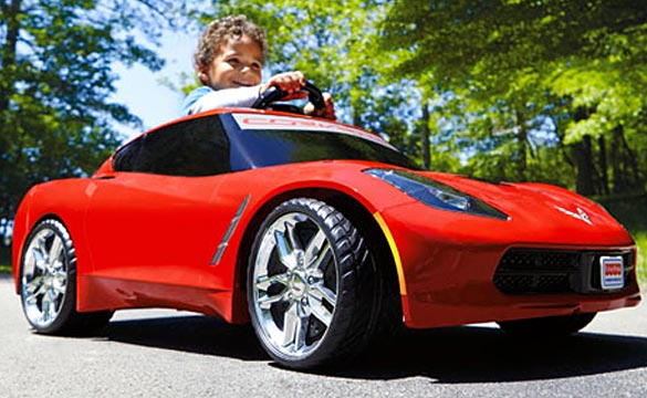 New Fisher-Price Power Wheels Corvette Stingray Coming this Fall