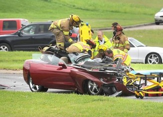 [ACCIDENT] Driver in Serious Condition after C6 Corvette Wreck in Missouri
