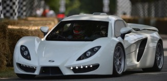 Corvette-Powered Sin R1 Supercar Makes Its Debut at Goodwood
