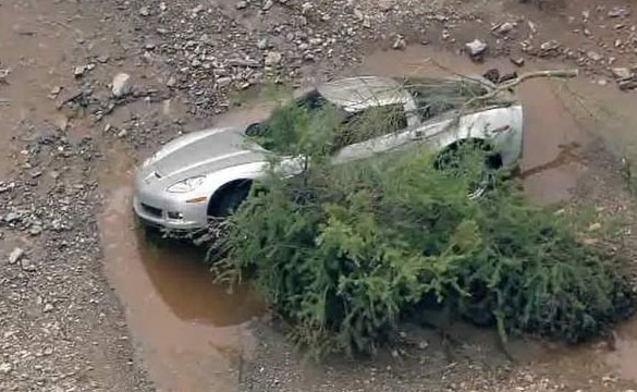 [VIDEO] C6 Corvette Caught in Arizona's Flash Flood