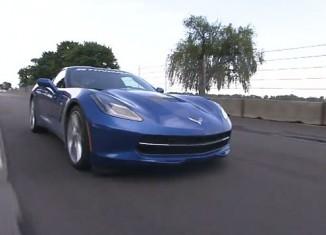 [VIDEO] GRAND-AM Corvette Driver Eric Curran Drives the 2014 Corvette Stingray