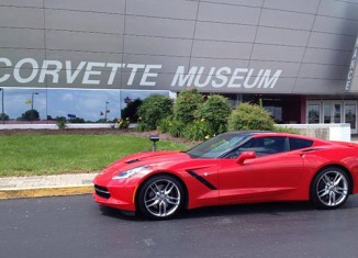 Corvette Museum to Raffle a 2014 Corvette Stingray During the Anniversary Celebration