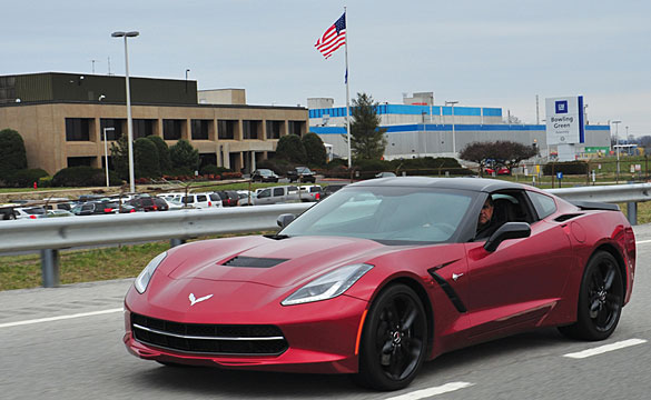 Chevrolet's John Fitzpatrick Details the Production Process for the 2014 Corvette Stingray