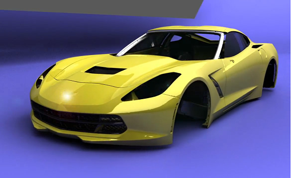 [VIDEO] The 2014 Corvette Stingray Build Animation