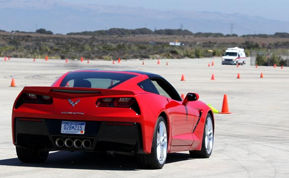 [VIDEO] Autocrossing the 2014 Corvette Stingray