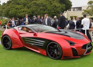Corvette-Powered Laraki Motors Epitome Concept at Pebble Beach 2013