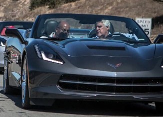 [VIDEO] Jay Leno and Rick Hendrick Impressed After Driving the 2014 Corvette Stingray
