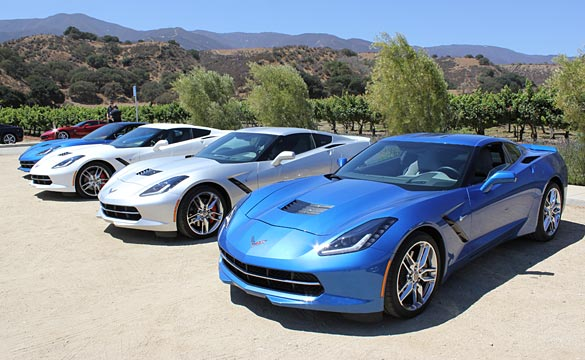 Early Buyers of the 2014 Corvette Stingray Ordering Z51 and Magnetic Ride Control
