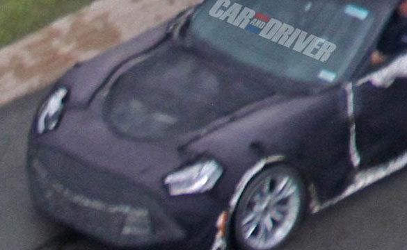 Car and Driver: 2016 Corvette Z07 Spy Photos