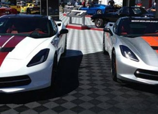 Chevy Reveals Two More 2014 Corvette Stingray Stripes in Monterey