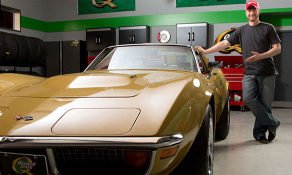 Quaker State Offering a 1972 Corvette in the 'Defy My Ride' Sweepstakes