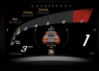 [VIDEO] 2014 Corvette Stingray's Advanced Dash Displays